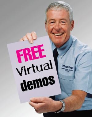 Weyfringe free virtual demonstrations